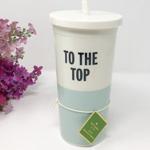 Kate Spade NY Insulated Tumbler With Straw